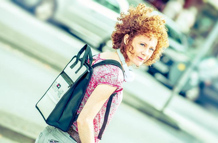 ecowoman verlost einen tollen Upcycling-Rucksack