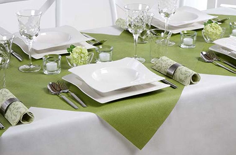 Tischdecken nachhaltig aus nachwachsenden Rohstoffen