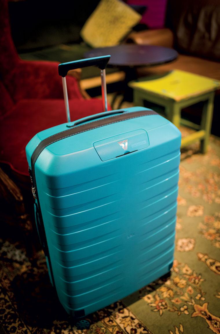 Nachhaltiger Koffer aus Italien