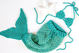 Häkeldecke Als Meerjungfrau Selber Machen Hält Nicht Nur Die Füße Warm
