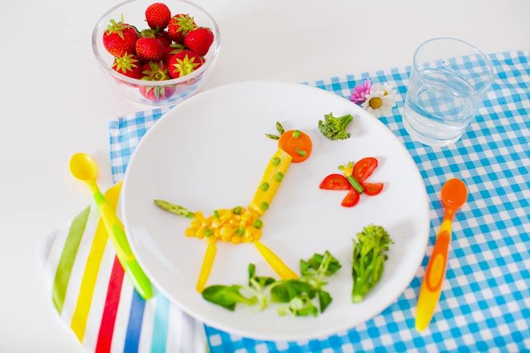 Gesundes Essen für Kinder attraktiver machen