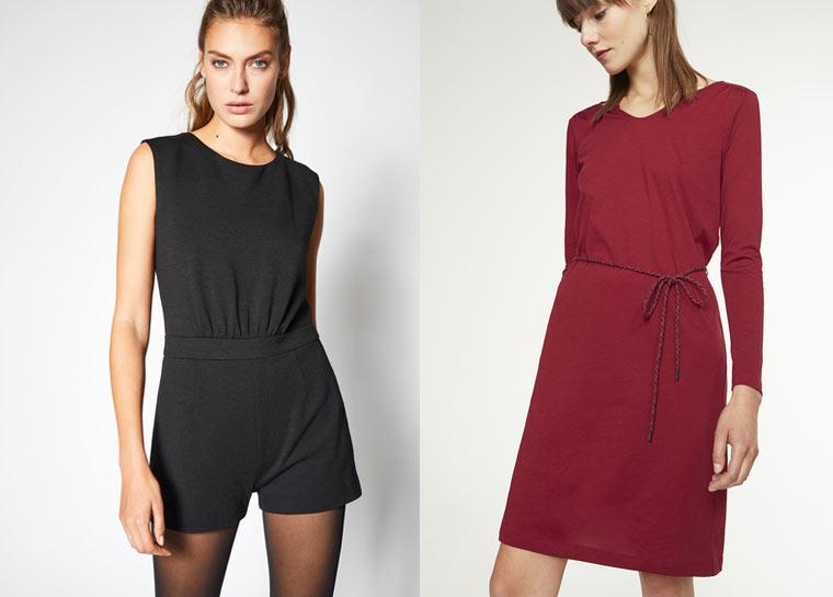 Jumpsuit und Jerseykleid