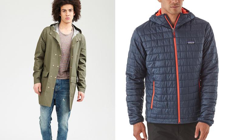 Nachhaltige Wintermäntel und -jacken für Männer