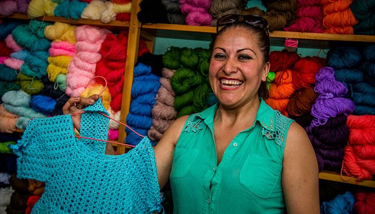 Der erste eigene Laden als Weg in eine sichere Zukunft in Ecuardor