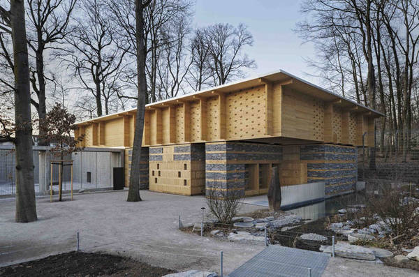 Futuristische Holzarchitektur für die Gegenwart
