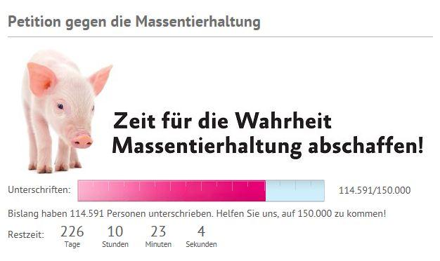 Albert Schweitzer Stifftung Pedition gegen Massentierhaltung