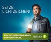 Glühbirnen recyclen