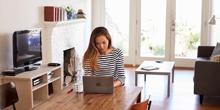 Home-Office – So klappt das Arbeiten zu Hause