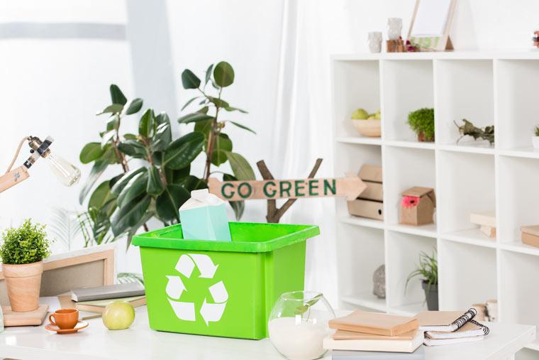 Mehr Nachhaltigkeit im Büroalltag
