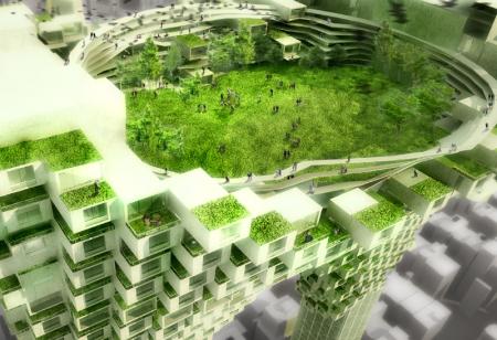 Urbane Architektur: Wie sehen die Gebäude der Zukunft aus