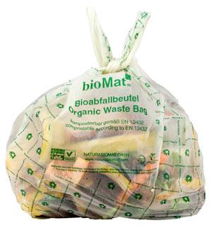 Bioabfallbeutel von bioMat