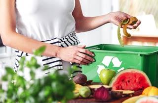 Biogut sauber entsorgen