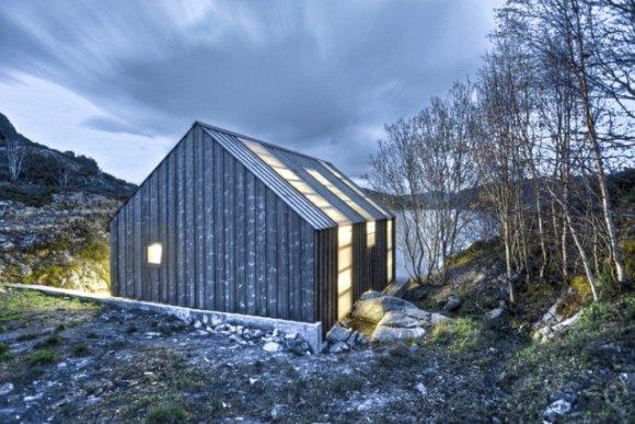 Nachhaltige Architektur und cleveres Recycling in einmaliger Idylle