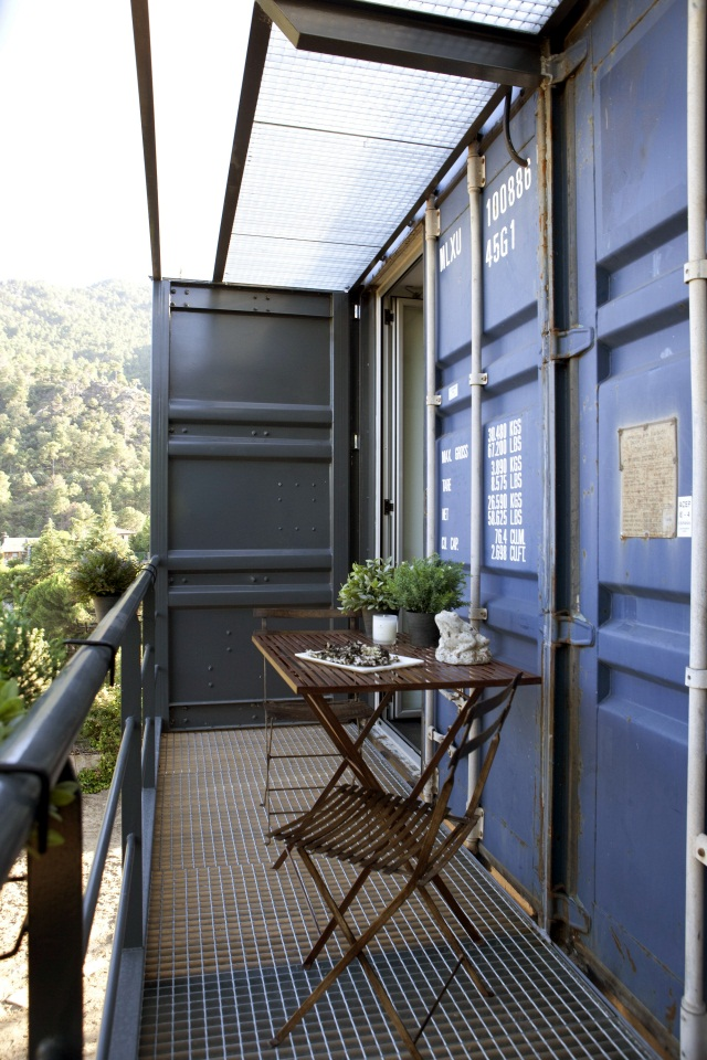 Nachhaltig bauen und nachhaltige Architektur: Recycelte Frachtcontainer werden umweltfreundliches Zuhause