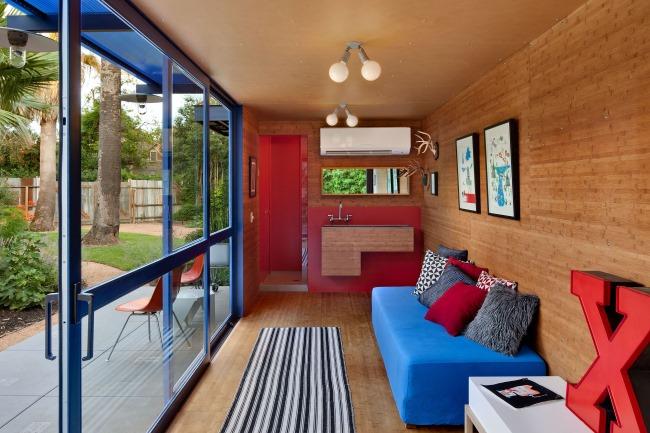 Nachhaltig Architektur: Recycelte Frachtcontainer werden umweltfreundliches Ferienhaus