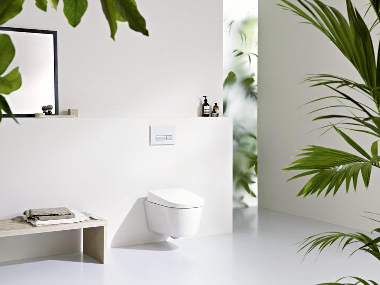 Dusch-WC sorgt für Komfort