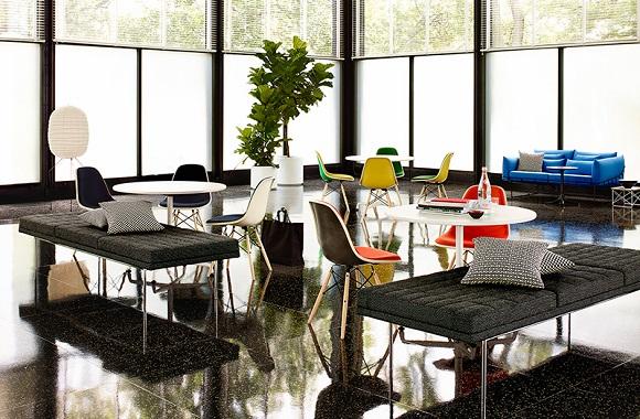 Rückkehr eines Klassikers: Vintage Eames Stühle nun aus umweltfreundlichem Fiberglas