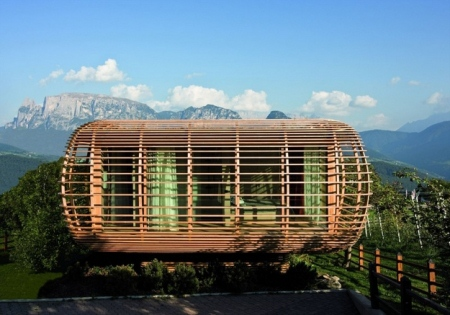 Fincube: Energiesparhaus vom Berliner Studio Aisslinger