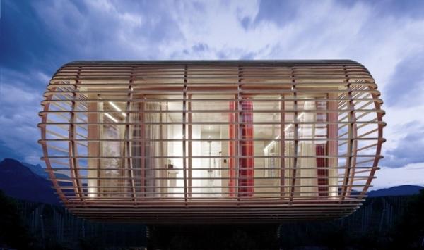 Fincube: Energiesparhaus vom Berliner Designbüro Aisslinger