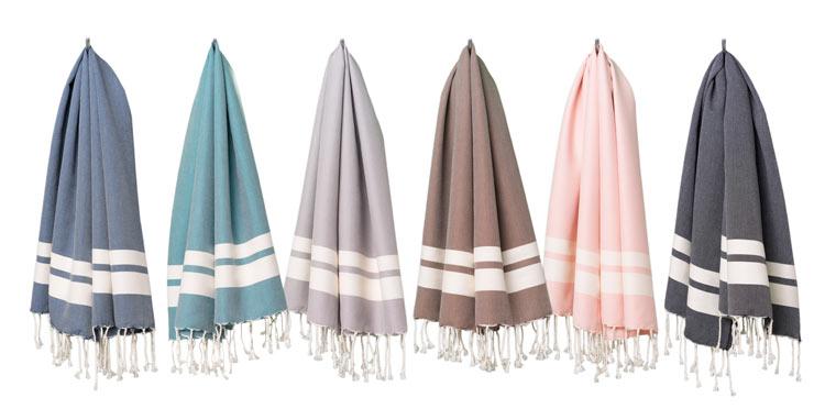 Label Fouta: Handtücher in wunderschönen Naturfarben