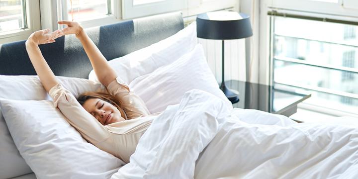 Gesund schlafen in kuscheliger Bio-Bettwäsche