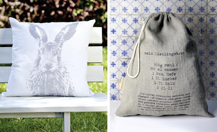 Idee zu Weihnachten: Bunte Textilwaren von Frohstoff