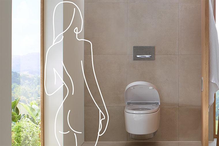 Dusch-WC von Geberit