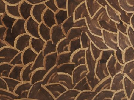 Nachhaltig und voll im Trend: Furnier aus angesagtem Hirnholz