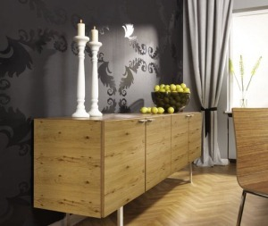 Kaindl: Nachhaltige Altholz Furnier Möbel