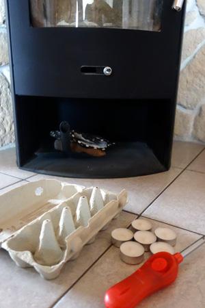 kaminanz nder selber machen live hack wachsreste von kerzen recycling. Black Bedroom Furniture Sets. Home Design Ideas