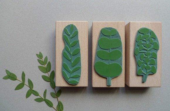 Karten bedrucken: Öko-Stempel von karamelo für Naturliebhaber