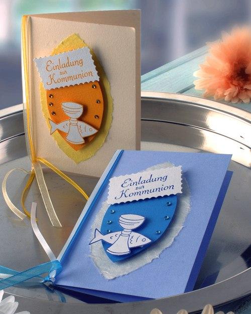 Hochzeit, Grillfest oder Kommunion: Einladungskarten selber machen