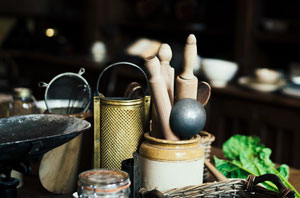 Unnötige Küchenutensilien verbannen