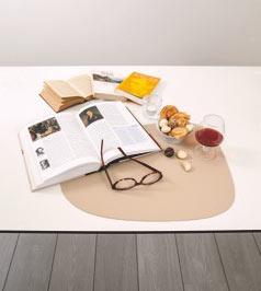 Tischsets aus Lederreste