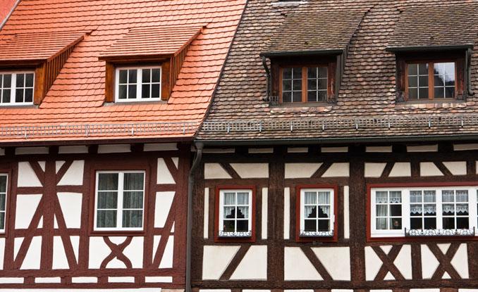 Im Fachwerkhaus wird der Lehm seit Jahrhunderten zusammen mit Holz verwendet © Zoonar RF / Zoonar/ Thinkstock