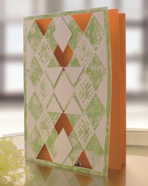 Einladungskarten selber basteln und mit umweltfreundlichem Linoleum bedrucken