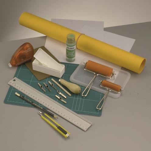 muttertagskarten basteln und bedrucken mit umweltfreundlichem linoleum. Black Bedroom Furniture Sets. Home Design Ideas