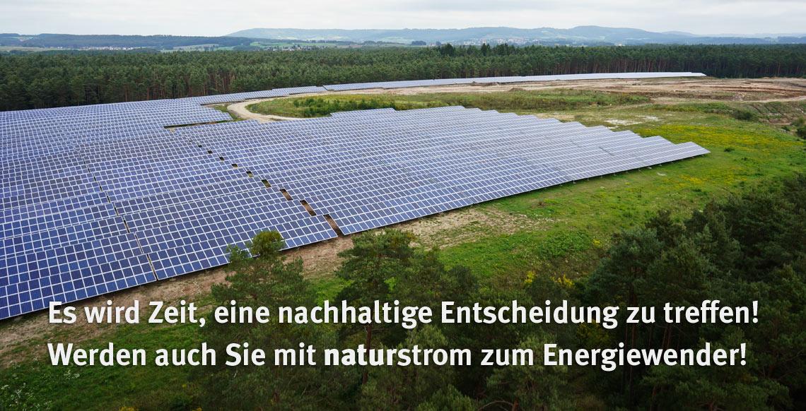 Werden auch Sie mit naturstrom zum Energiewender!