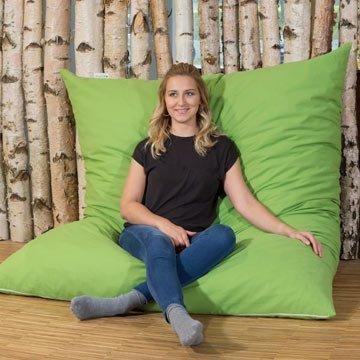 Gemütliche Sitzsäcke mit Öko-Bezug