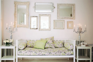 Nachhaltige Möbel: Wiederverwertung beim Romantik Stil