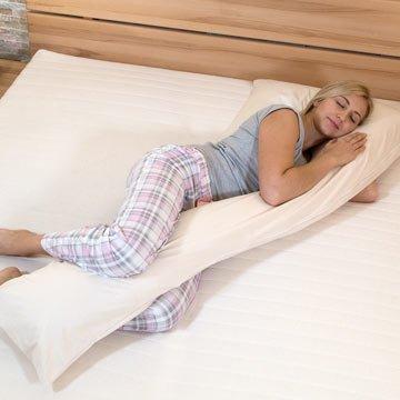 Das richtige Kissen für Seitenschläfer