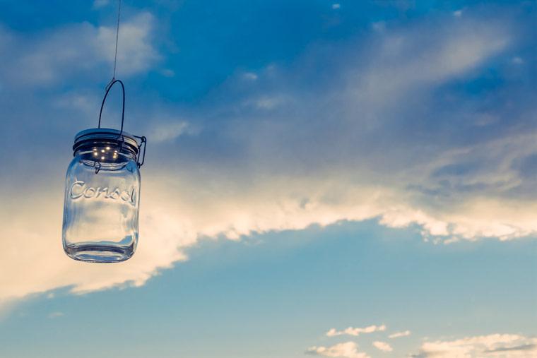 Ein Liter faires Sonnenlicht aus Südafrika