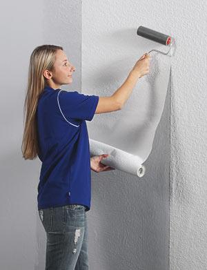 tapezieren leicht gemacht hochwertige tapete aus vliesfaser. Black Bedroom Furniture Sets. Home Design Ideas