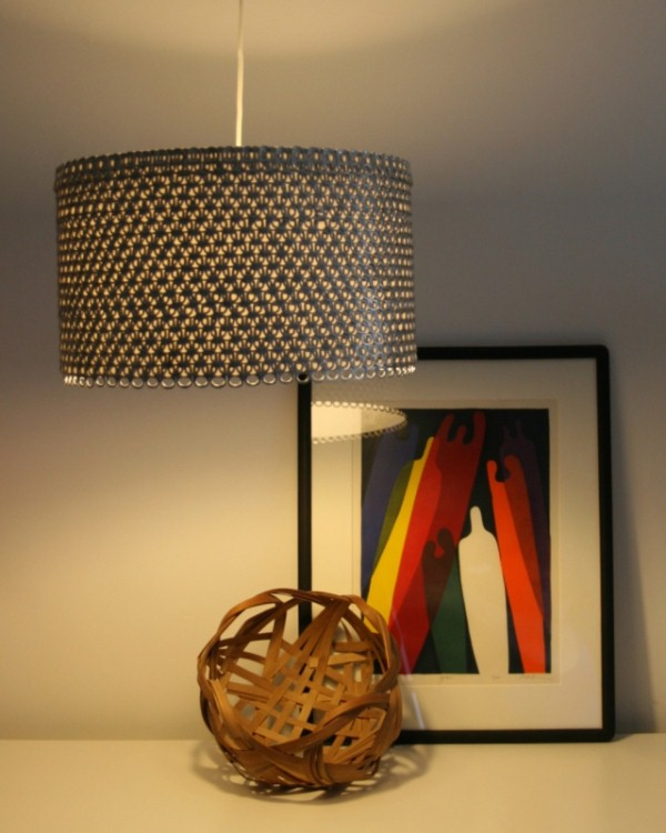 Upcycling: Design Lampe von Allison Parker.