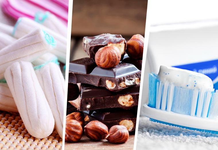 Alltagsprodukte in denen sich Plastik versteckt