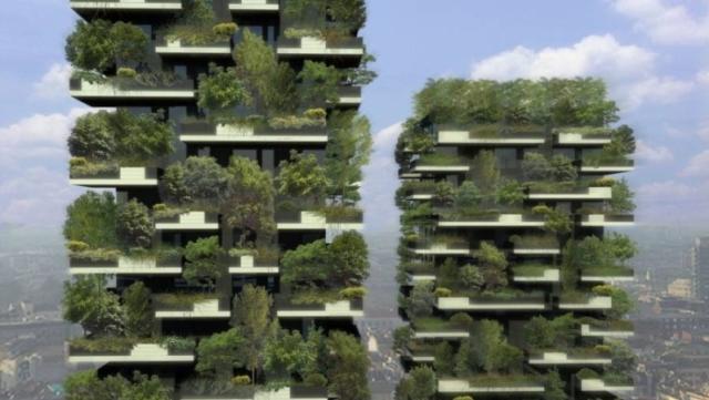 der erste vertikale wald und warum bosco verticale so nachhaltig ist. Black Bedroom Furniture Sets. Home Design Ideas