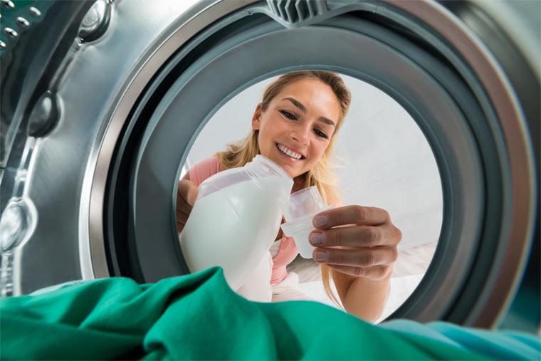 Die richtigen Waschprodukte wählen