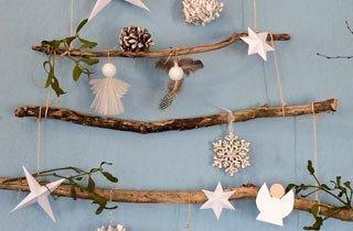 DIY - Nachhaltiger Weihnachtsschmuck zum Nulltarif