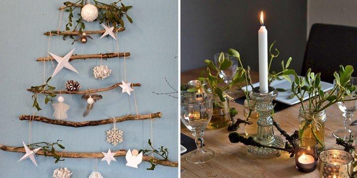 DIY: Schöne und nachhaltige Weihnachtsdeko mit Naturmaterialien selber machen