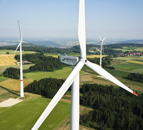Windkraft Naturstrom